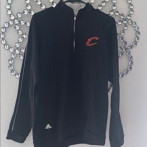 Cavs Adidas 3/4 zip, size M